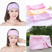 Wash Face Makeup SPA Womens Sweat Elastic Soft headbands Hair Band BDAU