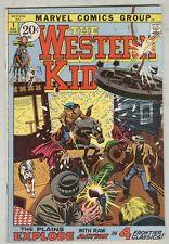 Western Kid #1 December 1971 VG