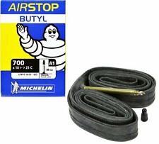 Michelin Airstop 700x18-23-25 XL 80mm Presta Valve Road Bicycle Tube Butyl 700c