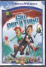 Dvd DreamWorks **GIU' PER IL TUBO** nuovo 2006