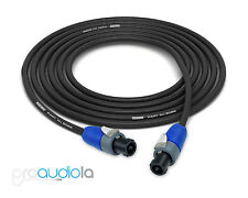 Mogami 3082 Speaker Cable   Neutrik Speakon   1 Foot   1 Feet   30 cm