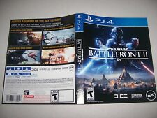 Original Replacement Case Box PlayStation 4 PS4 Battlefront II 2 *NO GAME*