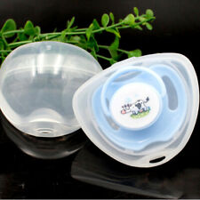 Baby Pacifier Box Portable Nipple Box Infant Cradle Case Holder Soother Box