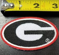 """Georgia Bulldogs NCAA~3""""x1.75"""" Iron/Sew On Patch~FREE SHIPPING FROM THE U.S."""