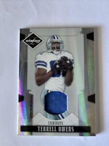 "2008 Leaf Limited Threads ""Blue Jersey"" 06/25 Terrell Owens #28 HOF, Cowboys"