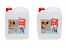 [3,90€/L] 2 Kanister Würth Bremsenreiniger Reiniger 5 Liter - Art.Nr. 0890108715