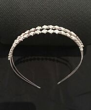 Wedding Diamante Crystal Rhinestone Hair Band Tiara Special Occasion