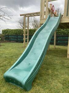NEW 9ft,2.7metre Children's GREEN Wavy Slide for  Climbing Frames tree house