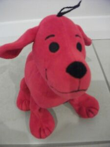 """Clifford The Big Red Dog Plush Toy 18cm (7"""") Head to Tail (Scholastic brand)"""
