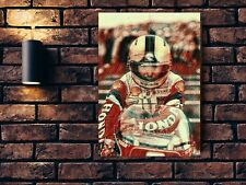 Joey Dunlop  Large Wall Art Print 21.81 inches x 31.31 inches NEW