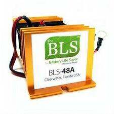 New Battery Life Saver BLS48A 48V Life Extender Rejuvenator Mounted Desulfator