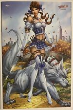 Oz #3 Jamie Tyndall Zenescope NYCC Exclusive #1/250 Grimm Fairy Tales Nm