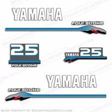 Yamaha 25hp FourStroke Outboard Motor Decal Kit 4 Stroke 25 hp four stroke 2000