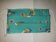 Smurfette nurse cotton facemask
