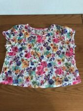 Gorgeous Lace Flower Tshirt top Crop New Look size 10