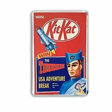 THUNDERBIRDS HAVE A BREAK HAVE A KIT KAT -NEW JUMBO FRIDGE / LOCKER MAGNET