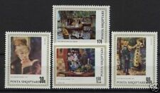 Albania 1991 SG#2487-90 P.A.Rendir, Paintings MNH Set