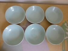 6 Woods Ware Beryl Bowls - Vintage - 2 Sets available