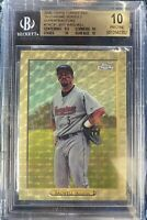 ToppsChrome SuperFractor 1/1 Jeff Bagwell HOF Gold Refractor BGS 10 PRISTINE PSA