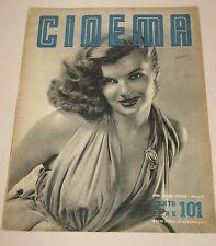 CINEMA=1953=ITALY MAGAZINE=CORINNE CALVET LUCIA BOSE ANDREA CHECCHI