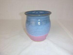 Vtg 1992 Charles Todd Wagoner Studio Art Pottery Vase Billies Creek Village