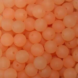 Pkg of 40 TroutBeads Trout Beads Fishing Bait Tackle Craft 8mm Glow Roe