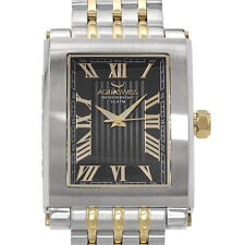 AQUASWISS Made in Switzerland two Tone Quartz Gentlemens  Watch