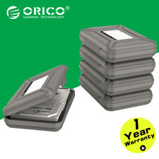 "ORICO Gray 5pcs 3.5"" HDD SSD Hard Drive Case Enclosure sponge Protective Box"