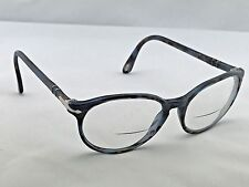 Persol 3015-S Blue Tortoise Round Keyhole Eyeglasses Frames 54-18 140 Italy