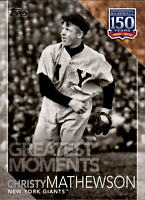 2019 Topps Series 2 150 Years Greatest Moments #GM-2 CHRISTY MATHEWSON Giants