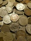 Old US Coin Estate Lot Buffalo & V Liberty Nickels Indian Penny Cent 3 Coin Set