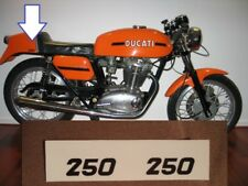 Ducati single bevel 250 350 450 DESMO stickers adesivi Scrambler Köwe
