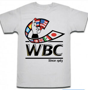 BOXING LOGO BY THE WBC BOXING T SHIRT