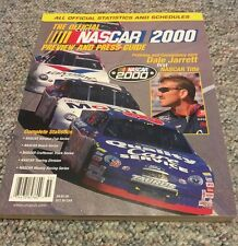 Official NASCAR 2000 Yearbook and Press Guide Magazine Dale Jarrett Champion