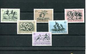 Luxemburg Nr. 495 - 500 ** Olympiade 1952 (#76204)
