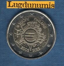 2 euro Commémo Finlande 2012 10 Ans de l'Euro Finland