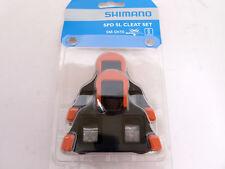 Shimano Sm-sh10 Spd-sl Road Pedal Cleats 0-degrees Float Fits 105 Ultegra