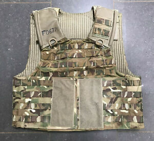 Genuine British Army Osprey MTP Molle Plate Carrier Vest Size XLarge