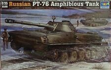 Trumpeter 1/35 Russian PT-76 Amphibious Light Tank 380