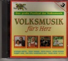 (CY44) Volksmusik fur's Herz, Das grosse Festival der Volksmusik - 1993 CD