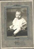 Vintage Photo-Mitchell South Dakota-Cute Baby Sitting