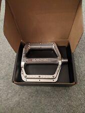 Burgtec Mk5 pedals Silver New