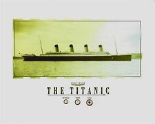 "TITANIC - RELICS, coal, wood, rusticle pieces of/from the RMS TITANIC, 8"" x 10"""