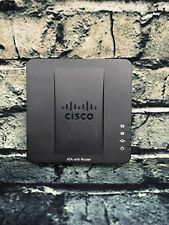 More details for cisco spa122 ata with router - 2-port telephone adapter - no psu