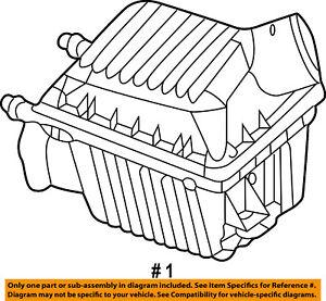 CHRYSLER OEM Air Cleaner Intake-Filter Box Housing 4591099AB