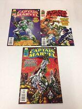 The Untold Legend Of Captain Marvel #1 #2 #3 1997