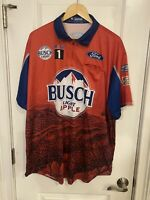 XL Kevin Harvick 2020 Busch Light Apple Michigan Sweep Pit Crew Shirt Nascar NEW