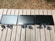 LG FLATRON  E2340 Monitors  LOT of 3