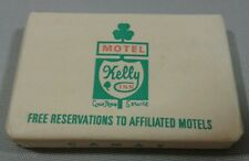 Kelly Inn Phoenix Motel Soap Bar Irish Shamrock Camay