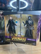 Marvel Legends Loki and Corvus Glaive 2 Pack Avengers Infinity War NIB HASBRO